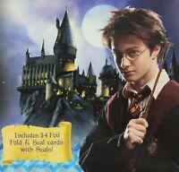 Harry Potter Prisoner of Azkaban 34 Foil Fold & Seal Valentine Cards With Seals