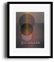 Song Lyric Art Music Quote Print Poster - Whiter Shade of Pale by Procol Harem