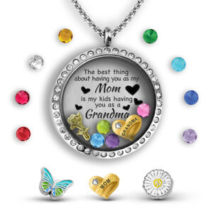 Grandma Necklace Gift Mothers Day Necklace The Best Mom Necklace For Mom Gift