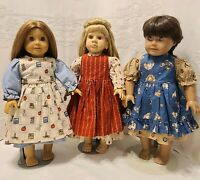 "18"" Doll Clothes for American Girl, Our Gen ~ 2-Pc OUTFIT ~ DRESS & APRON New!"