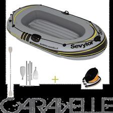 Pack Annexe gonflable SEVYLOR CARAVELLE livré avec pagaie et gonfleur.
