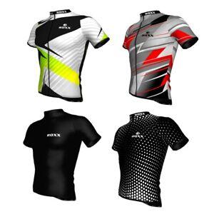Mens Cycling Jersey Half Sleeve Quality Biking Top Cycle Racing Team by ROXX