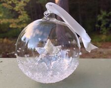 Swarovski Crystal 2014 2nd ANNUAL EDITION CHRISTMAS BALL ORNAMENT MIB