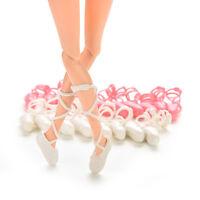 10 paia bambole scarpe ballerine bind-type per bambole outfit Ra LFIT