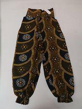 Dupsie's Women's Gorgeous African Print Ankara Genie Pants Multi HM7 Size 14/16