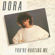 "Dora ""You're hurting me"" Eurovision Portugal 1986 United Kingdom Pressing"