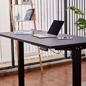 Höhenverstellbar Arbeitstisch Elektrisch Tischgestell + Tischplatte Schreibtisch