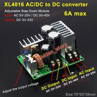 AC/DC to DC Buck Step Down Converter 3V 5V 12V 15V 24V Rectifier Filter Module