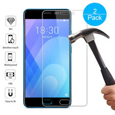 2Pk 9H Tempered Glass Film Screen Protector Cover For Meizu M5 M6 M5Note M6Note