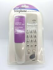 Living Solutions Corded Phone. Brand New.