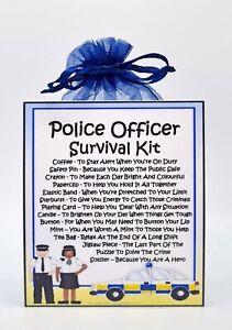 Police Officer Survival Kit -Fun Novelty Gift & Card Alternative / Keepsake
