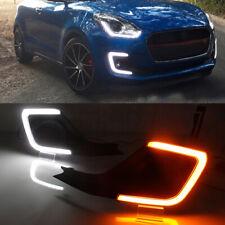 For Suzuki Swift 2018-2019 Car LED Daytime Running Light DRL Fog Driving Lamp