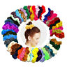 50 Pcs Hair Scrunchies Velvet Elastic Hair Bands Scrunchy Hair Ties Ropes Scrun