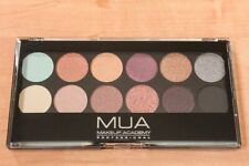 NEW Rare *MUA MAKEUP ACADEMY* 12-color SOLSTICE Shimmer EYESHADOW PALETTE