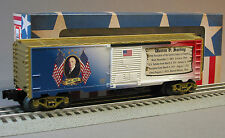 LIONEL WARREN HARDING PRESIDENTIAL BOXCAR O GAUGE MADE USA train box car 6-81489