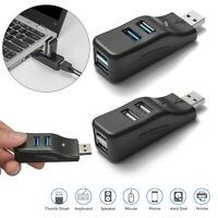 Portable Adapter 4 Ports USB Expander USB 3.0 Hub Splitter Box For PC Laptop