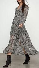 NWT BCBG BCBGMAXAZRIA Puff Sleeve Cocktail Dress Size M Medium Optic White $338