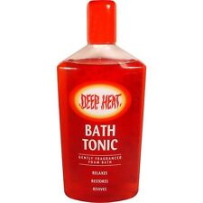 Mentholatum Deep Heat Foam Bath Tonic 350ml Relaxe,Restore Muscles,aches Pains