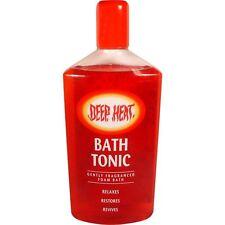 Mentholatum Deep Heat SCHIUMA BATH TONIC 350ml relaxe, ripristinare i muscoli, Aches male