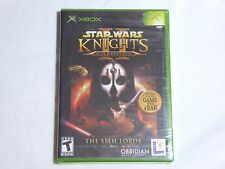 NEW Star Wars Knights of the Old Republic II XBox Game SEALED sw kotor 2 US NTSC