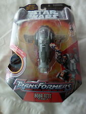 Star Wars Action Figure Vehicle Transfomers Boba Fett Slave 1 From Hasbro 2006