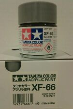 Tamiya acrylic paint XF-66 Light Grey, 23ml.