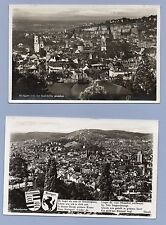 Vintage Photograph Real Photo Postcard STUTTGART GERMANY Set of 6 RPPC