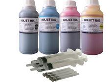 4x250ml dye refill ink for HP 65 Deskjet 2652 3720 3730 3732 3752 3755 3758