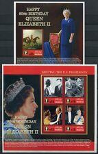 MALEDIVEN MALDIVE 2006 Königin Elisabeth II. QE II 4513-4516 + Block 597 MNH