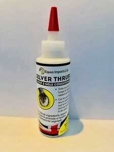 Silver Thrush Hoof & Sole Conditioner for Horses, dry approach to thrush 2 Sizes