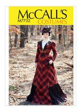 Schnittmuster McCall's M 7732: Historisches Damenkostüm