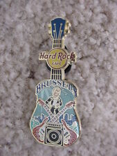 HARD ROCK CAFE*BRUSSELS* CORE T PIN*BRAND NEW*LOOKS GREAT