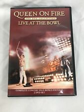 Queen: On Fire - Live at the Bowl (DVD, 2004)-excellent Condition!!!!!!!!!!!