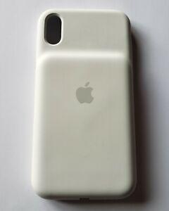 Unused WHITE Apple Smart Battery Case for iPhone XS Max in Bulk Pkg - MRXR2LLA