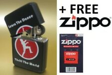 Windproof Refillable Lighter MICHAEL JACKSON THRILLER High Quality + ZIPPO WICK