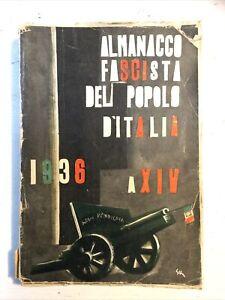 ALMANACCO FASCISTA DEL POPOLO D'ITALIA 1936