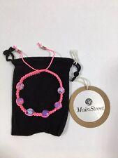 26 Main Street - Adjustable Bead Macrame Bracelet