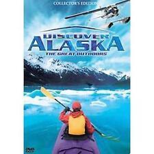 Discover Alaska: The Great Outdoors 5 disc Dvd Set Collector's Tin fishing bears