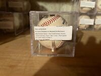 Paul Goldschmidt Ball Nationals Cardinals Game Used Baseball