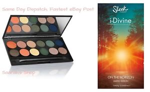Sleek i-Divine Limited Edition Eyeshadow Palette * ON THE HORIZON * Beautiful