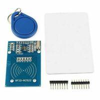 1 Set MFRC-522 RFID IC Card Inductive Sensors Module S50 NFC Card Keyring Kit