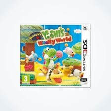 POOCHY & YOSHI'S WOOLLY WORLD sur Nintendo 3DS / Neuf / Sous Blister / VF
