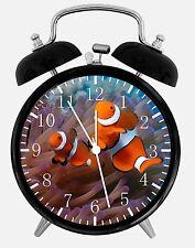 "Tropical Ocean Fish Alarm Desk Clock 3.75"" Room Office Decor E302 Nice For Gift"
