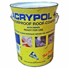 Acrypol+ Flat Roof Waterproofing Solution 5kg in White