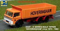D Series Bulk Tipper - Hoveringham, Suitable 1/76 Oxford,