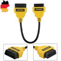 OBD 2 II Verlängerung Kabel Stecker auf Buchse 30CM 16Pin Diagnose Interface
