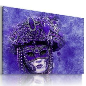 MASK FACE WOMAN ABSTRACT MODERN PRINT CANVAS WALL ART PICTURE LARGE AB681 X