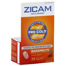 Zicam Cold Remedy RapidMelts, Cherry 25 ea (Pack of 2)