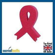 SALE...Red Ribbon Aids Awareness Car Aerial Ball Topper Antenna