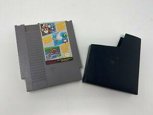 Super Mario Bros. / Duck Hunt / World Class Track NES Video Game Cartridge